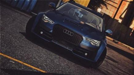 Photo of Gta 5 – Audi A6 Fnbodykit Add On 1.0