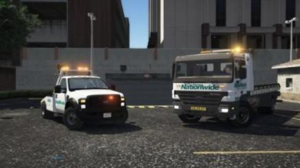 Photo of Gta 5 – Australia Tow Truck Nation Wide Towing 2008 Ford F550 1.0