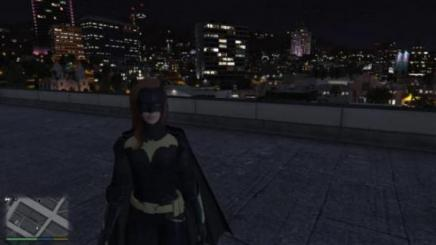 Photo of Gta 5 – Batgirl Retexture