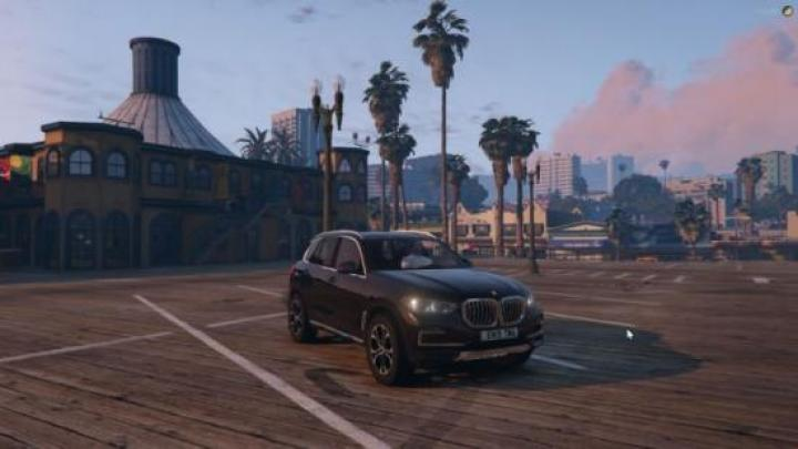 Gta 5 - Bmw X5 2019 Civ Replace 1 0 - New PC Game Modding