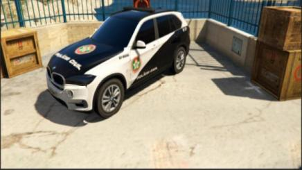 Photo of Gta 5 – Bmw X5 – Viatura Da Polícia Civil – Retexture – Pcerj 1.0