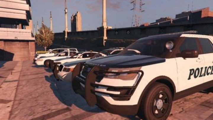 Gta 5 - Lspd Vehicle Texture Pack Redmond Styled 1 0 - New
