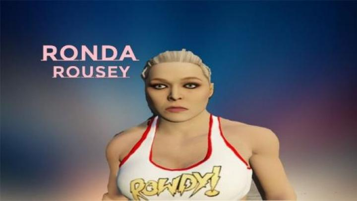 Gta 5 – Ronda Rousey Add-On Ped – Newmods Net PC Game Mods Download