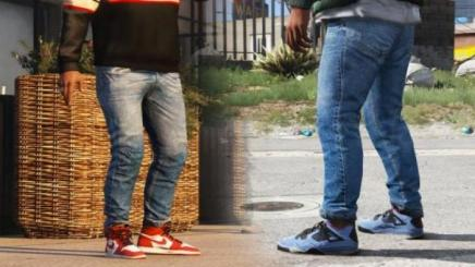 Photo of Gta 5 – Tight Jeans For Franklin 1.0