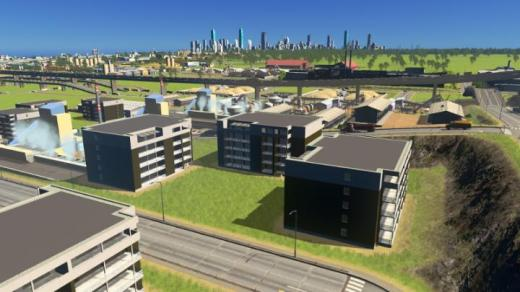 Photo of Cities: Skylines – Industry Area Ore – Residential District