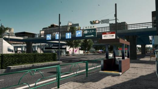 Photo of Cities: Skylines – Japanese Subway Entrance (PROP)
