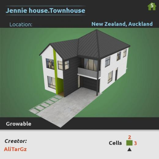 Photo of Cities: Skylines – Jennie House.Townhouse