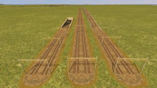 Photo of Cities: Skylines – JP 2L Rail KT21