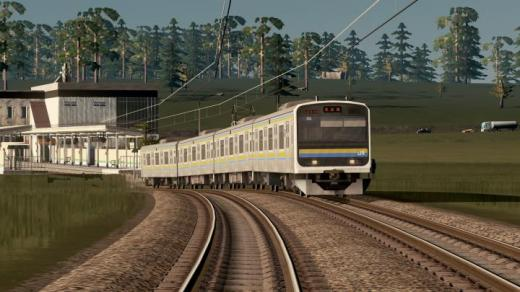 Photo of Cities: Skylines – JR Series 209-2100 Togane-Line