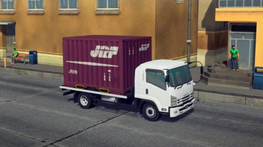 Photo of Cities: Skylines – JRF Container Truck