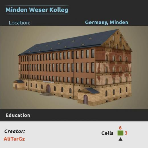 Photo of Cities: Skylines – Minden Weser Kolleg