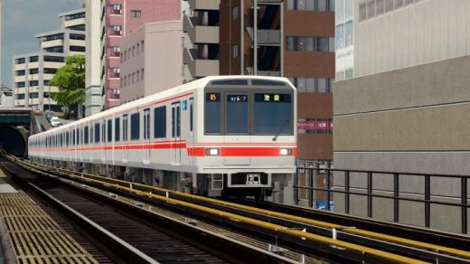 Photo of Cities: Skylines – [MOM] TokyoMetro 02 Series Train