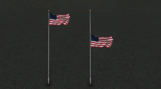 Photo of Cities: Skylines – Naylins U.S. Flag