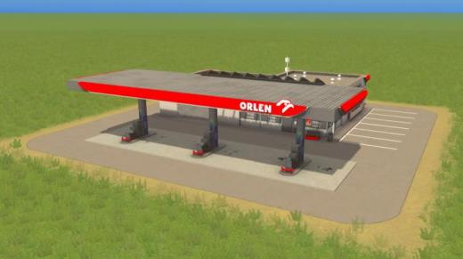 Photo of Cities: Skylines – Orlen Filling Station