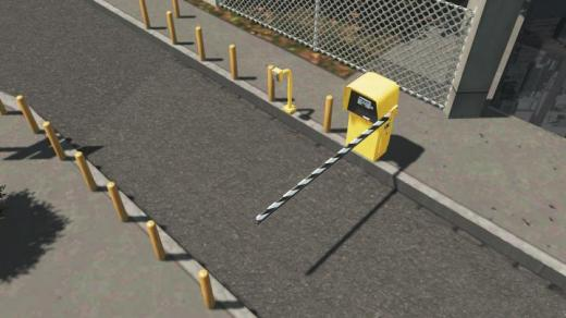 Photo of Cities: Skylines – Parking Gate Set