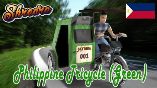 Photo of Cities: Skylines – Philippine Tricycle (Green)