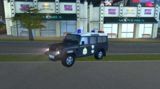 Photo of Cities: Skylines – Police Car – Royal Hong Kong Police #LR110B01