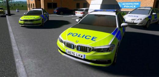 Photo of Cities: Skylines – [PROP]BMW 5-Series Touring (G31) Police UK