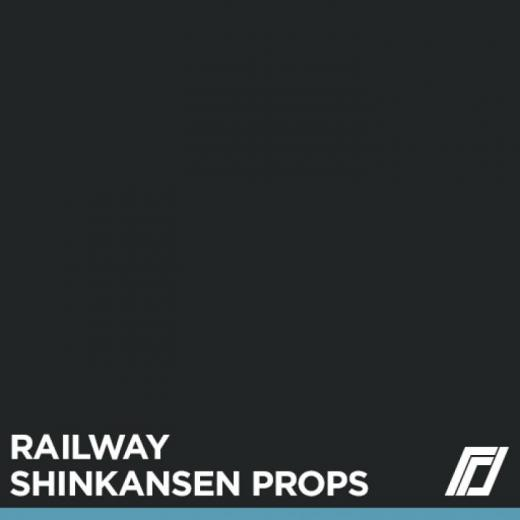 Photo of Cities: Skylines – Railway Shinkansen Props