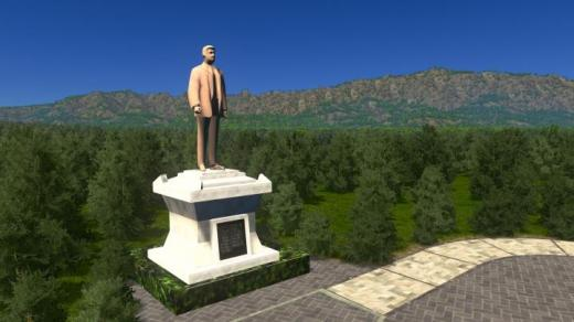 Photo of Cities: Skylines – Statue of Modern Asian Man
