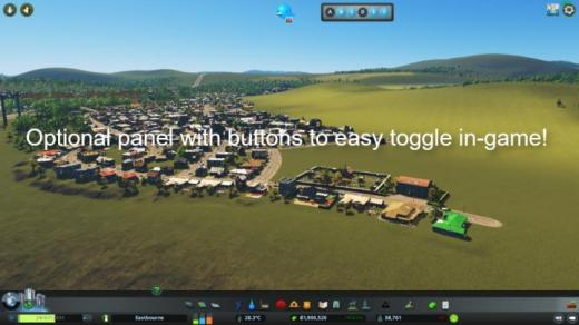 Photo of Cities: Skylines – Toggle It!