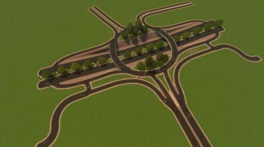 Photo of Cities: Skylines – Tree Martins Road Intersection