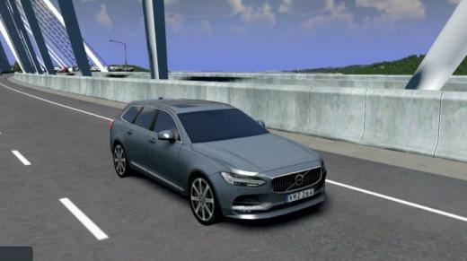 Photo of Cities: Skylines – Volvo V90 Inscription