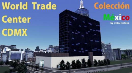 Photo of Cities: Skylines – World Trade Center – México