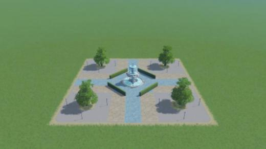 Photo of Cities: Skylines – Fountain Square