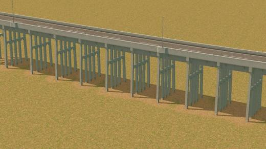 Photo of Cities: Skylines – 8m Pile Bents Pillar