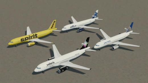 Photo of Cities: Skylines – A320 Family IAE: North America
