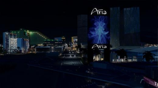 Photo of Cities: Skylines – Aria Casino Sign