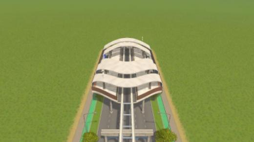 Photo of Cities: Skylines – Avenue Monorail Station2