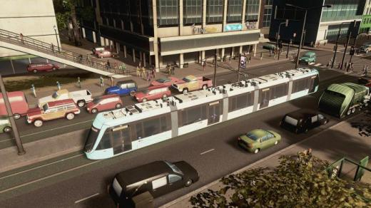 Photo of Cities: Skylines – Danhai LRT Tram ( 5Cars )