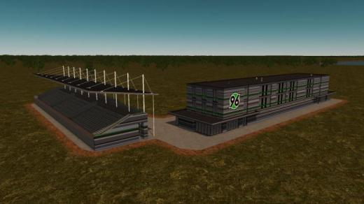 Photo of Cities: Skylines – Football Academy + Viewers Platform | Customizable Stripes, Changeable Logo | Hannover, Germany