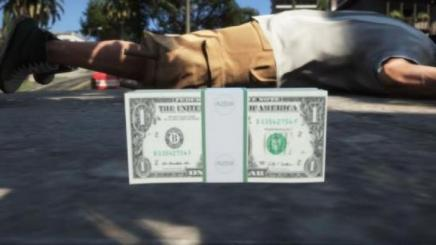 Photo of Gta 5 – $1 Dollar Bills 1.0