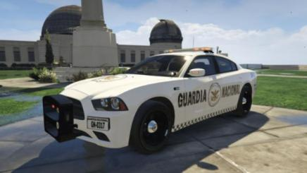 Photo of Gta 5 – 2014 Dodge Charger Guardia Nacional México (Marked/unmarked) Vol.1