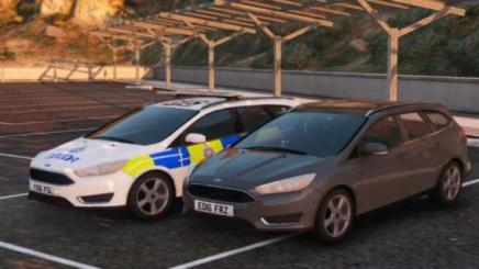 Photo of Gta 5 – 2016 Btp Ford Focus Estate Marked & Unmarked  Els | Replace  1.0