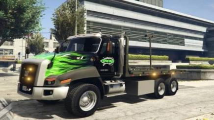 Photo of Gta 5 – 2016 Cat Ct660 Tow Truck Texture