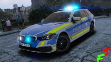 Photo of Gta 5 – 2018 Bmw G31 5 Series | Polizei Bayern V1.0