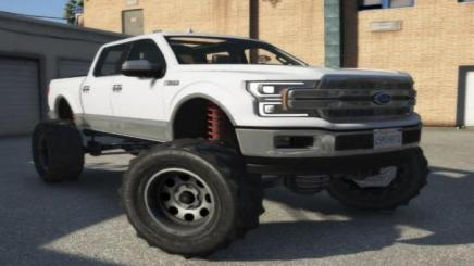 Photo of Gta 5 – 2019 Ford F-150 Lifted Replace 1.0