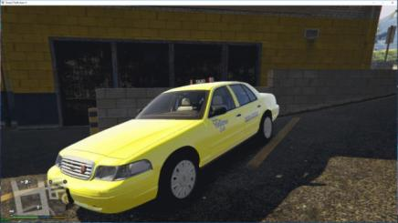 Photo of Gta 5 – Alaska Yellow Cab | Alaska Taxi 1.0