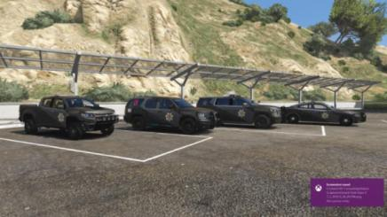 Photo of Gta 5 – Bcso Grey Over Black New Patrol Vehicle Livery 1.0