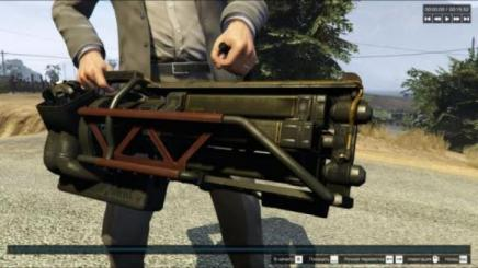 Photo of Gta 5 – Fallout 4 Gatling Laser Fully Animated 1.0