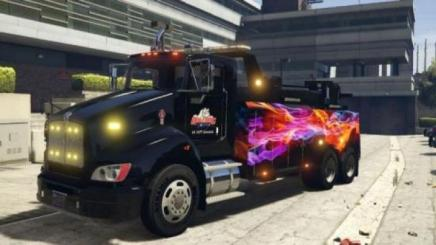 Photo of Gta 5 – Kenworth T440 Texture 1.0