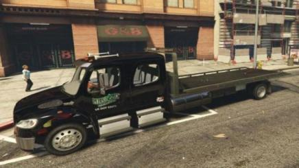 Photo of Gta 5 – M2 Flatbed Lizard Lick Towing 1.1