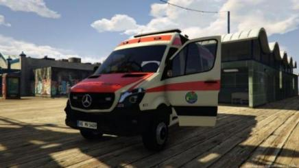 Photo of Gta 5 – Mercedes Sprinter Facelift 4X4 | Katastrophenschutz M-V Paintjob