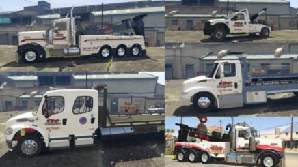 Photo of Gta 5 – Plaza Towing Truck Textures 1.0