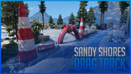 Photo of Gta 5 – Sandy Shores Event | Drag Track On Airport Fivem | Ymap 1.0