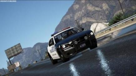 Photo of Gta 5 – Sandy Shores Regional Police Department Charger V1.0